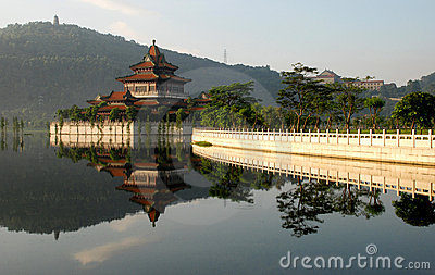 The Ancient Chinese Garden Stock ImagesImage 5732544