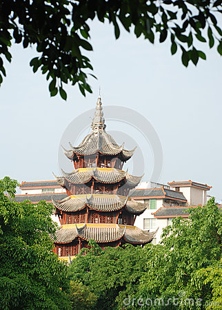 Free Ancient Chinese Tower Royalty Free Stock Images - 25359799