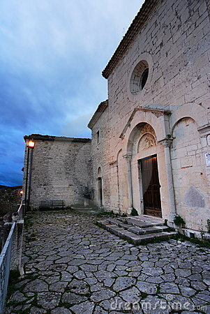 Ancient Church in Campobasso