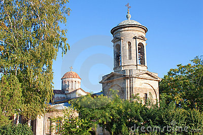 Ancient church in Kerch, Crimea, Ukraine