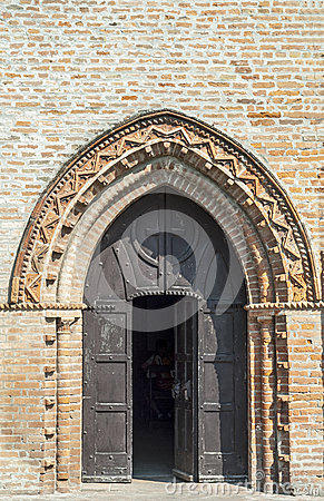 Ancient church near Felonica