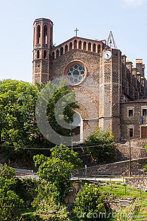 Ancient church in Sant Joan les Fonts