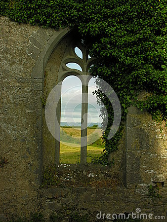 Free ANCIENT CHURCH WINDOW Royalty Free Stock Photos - 44374478