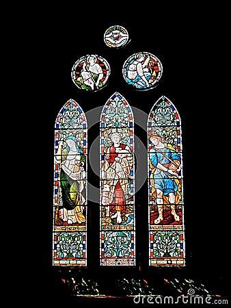 Ancient church window.