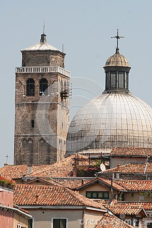 Ancient churches, Venice, Italy