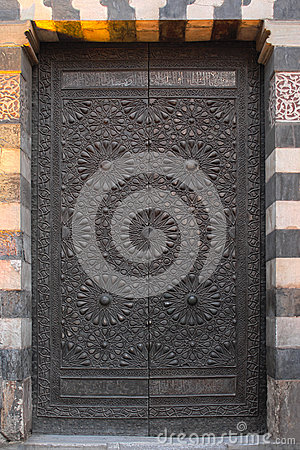 Ancient cipper door