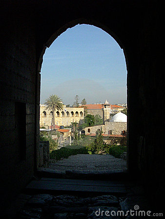 The ancient city of Byblos