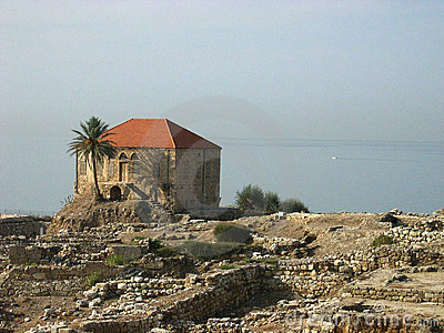 The ancient city of Byblos, Lebanon