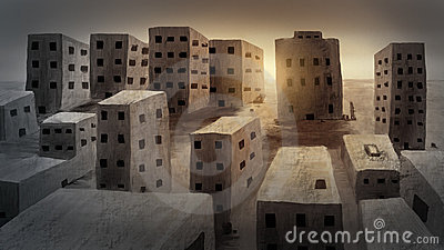 Ancient City - Digital Painting