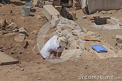 The ancient city of ephesus Editorial Photo