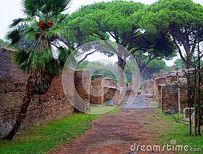 Ancient city stock photo image 60629780 for Mr arredamenti ostia antica