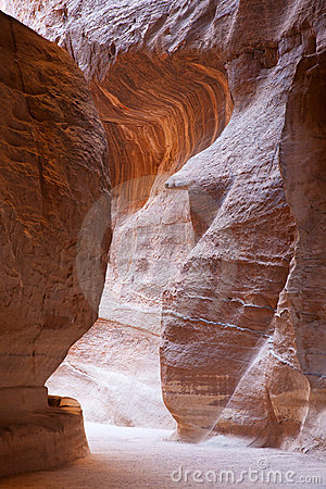 The ancient city of Petra, Jordan.