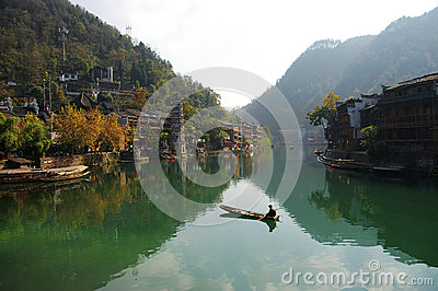 The ancient city of phoenix hunan province