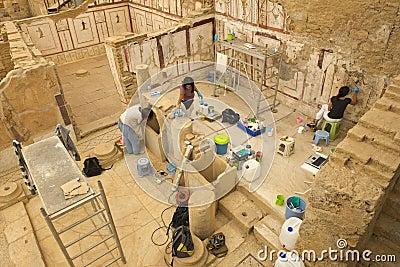 Ancient City Ruins of Ephesus, Travel to Turkey Editorial Photo