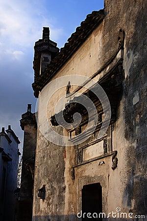 Ancient civilian buildings
