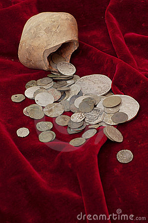 Free Ancient Coins Stock Photography - 2462142