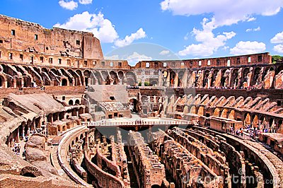 Ancient Colosseum of Rome