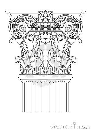 Ancient coloumn