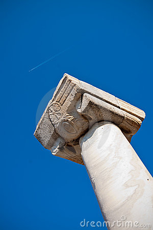 Ancient column - Ephesus