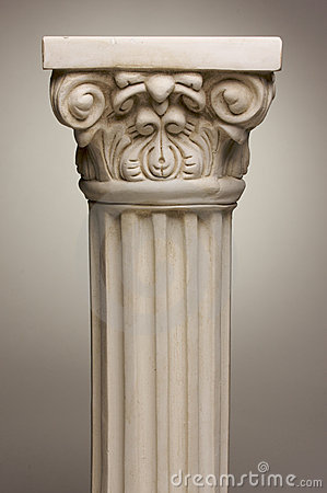 Ancient Column Pillar Replica Royalty Free Stock Photo - Image: 5639695