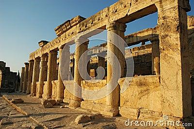 Ancient columns Hierapolis