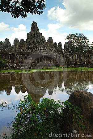 Ancient construction Angkor