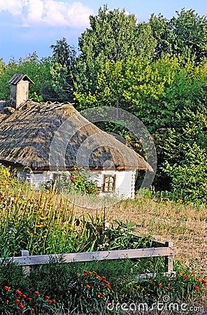 Ancient country landscape