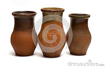Ancient crocks.