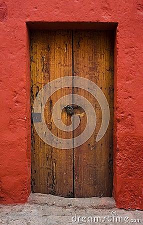 Free Ancient Door Stock Image - 6185051