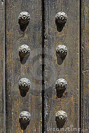 Free Ancient Door Detail Stock Images - 14663574