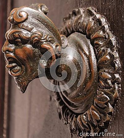 Ancient door knob