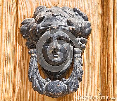 Ancient doorknocker.