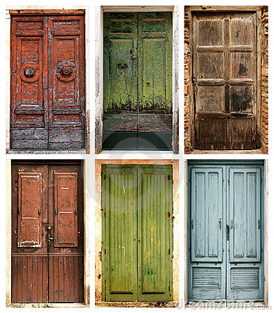 Free Ancient Doors Royalty Free Stock Photo - 9451665