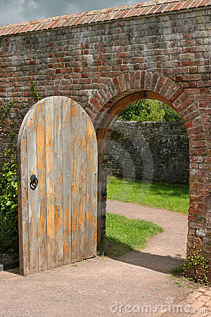 Free Ancient Doorway Royalty Free Stock Photos - 3450618