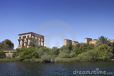 Ancient Egypt Temple of Philae, Ruins, Travel
