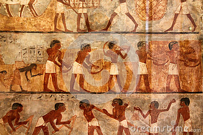 Ancient Egyptian Art Royalty Free Stock Photos Image