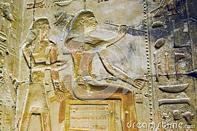 Ancient Egyptian Artist hieroglyph, Abydos
