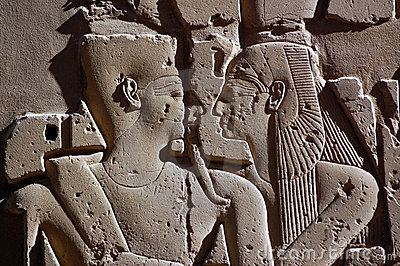 Ancient Egyptian Embrace