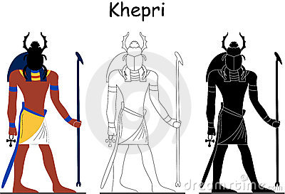 Ancient Egyptian god - Khepri