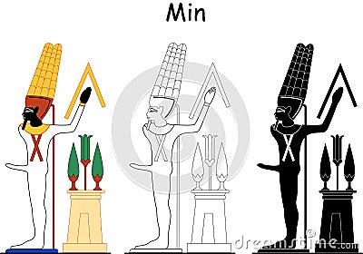 Ancient Egyptian god - Min