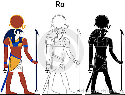 Ancient Egyptian god - Ra
