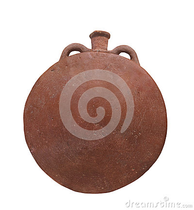 Free Ancient Egyptian Pottery Isolated. Stock Photography - 28468332