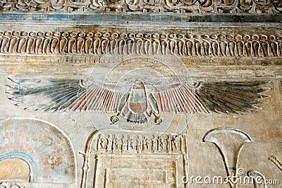 Ancient Egyptian vulture goddess Nekhbet