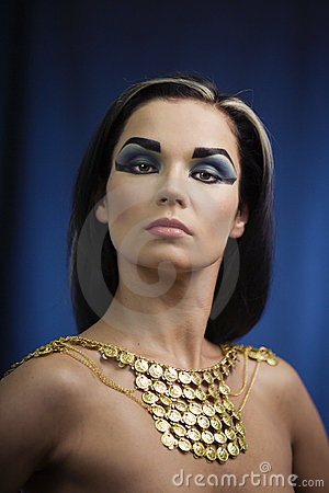 Free Ancient Egyptian Woman Royalty Free Stock Photography - 10463477