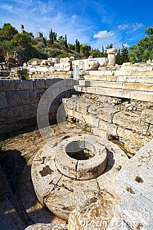 Ancient Eleusis Stock Photo - Image: 60021945
