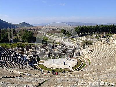 Ancient Ephesus theatre