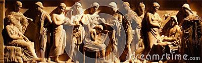 Ancient etruscan art