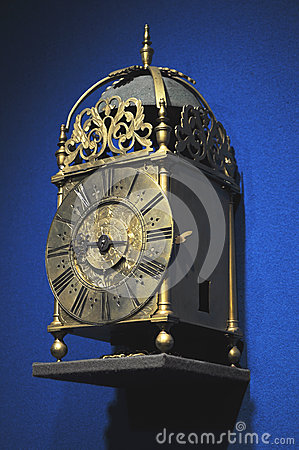 Ancient forged clock
