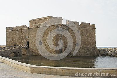 Ancient Fort, Pafos, Cyprus, Europe