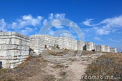 A ancient fortress Madara